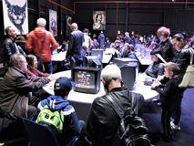 Roma, festival aplicado dos jogos imagem de stock royalty free