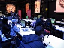 Roma, festival aplicado dos jogos imagens de stock royalty free