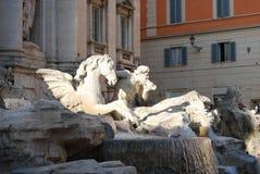 Roma, Fontana di Trevi Stock Images