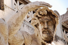 Roma - fonte adriático - praça Venezia Fotografia de Stock