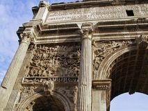 Roma - foro Romanum Fotos de archivo libres de regalías