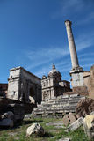 Roma - Forum Romanum Stock Photo