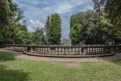 Roma frascati. Balcony of the villa in Frascati Royalty Free Stock Photo