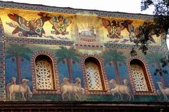 Roma, frente de un edificio Imagenes de archivo