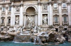 Roma, fuente del Trevi foto de archivo