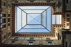 Roma, gallerie di vetro Alberto Sordi del tetto Fotografie Stock