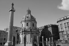 Roma historic quarter Royalty Free Stock Images