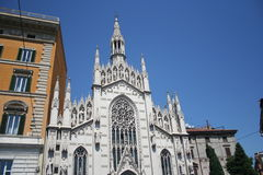 Roma-iglesia fotografía de archivo