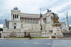 roma Il monumento è l'altare del ` della patria ` Fotografie Stock Libere da Diritti