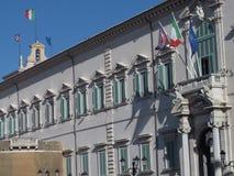 Roma il Quirinale fotografia stock libera da diritti