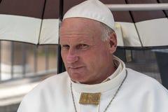 ROMA, ITÁLIA - 15 DE JUNHO DE 2019 - papa John Paul II idêntico imagem de stock royalty free