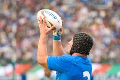 ROMA, ITÁLIA - 18 DE NOVEMBRO DE 2006 Test match Itália-Argentina do rugby Fotos de Stock