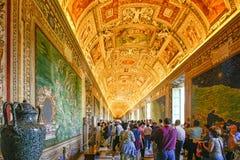 Roma, Itália - museu do Vaticano foto de stock royalty free