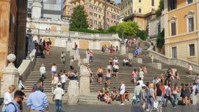 ROMA - ITALIA, AGOSTO DE 2015: visión cuadrada española almacen de video
