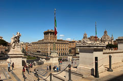 Roma, Italia - APRI 11, 2016: Vittorio Emanuele II, il museo c Fotografie Stock Libere da Diritti