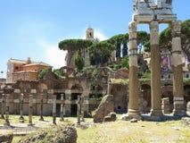 19 06 2017, Roma, Italia: Bella vista delle rovine di romano famoso Fotografia Stock Libera da Diritti