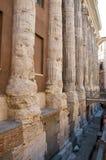 Roma. Italia. Columnas fotografía de archivo