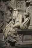 ROMA, ITALIA 11 DE JULHO DE 2017: Uma das esculturas as mais famosas dentro foto de stock royalty free