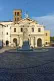 ROMA, ITALIA - 22 DE JUNIO DE 2017: Basílica de St Bartholomew en la isla en la ciudad de Roma Fotos de archivo libres de regalías