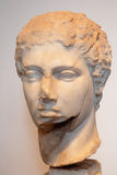 ROMA, ITALIA - 23 DE MARZO DE 2012: El busto antiguo de la colina de Palatine Foto de archivo libre de regalías