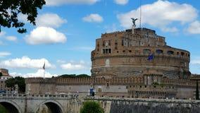 roma Italia 21 de mayo de 2019 Castel Sant Angelo o mausoleo en Roma Italia Castillo histórico, que está situado cerca de almacen de metraje de vídeo
