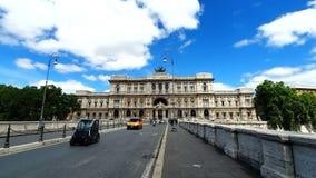 roma Italia 21 de mayo de 2019 Corte Suprema di Cassazione Vista del Tribunal Supremo de Italia del río de Tíber metrajes