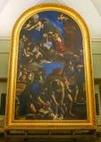 ROMA, ITALIA 10 DE OCTUBRE DE 2017: El entierro del santo Petronilla P Imagenes de archivo