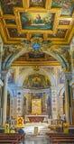 ROMA, ITALIA 10 DE OCTUBRE DE 2017: El interior de la basílica de Fotos de archivo libres de regalías