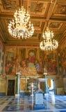 ROMA, ITALIA 10 DE OCTUBRE DE 2017: El Pasillo de capitanes en el contra Foto de archivo libre de regalías