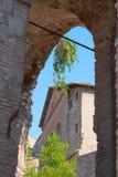 roma Italia El foro romano Foto de archivo libre de regalías