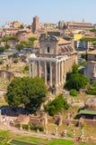 roma Italia El foro romano Fotografía de archivo