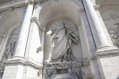 Roma, Italia, fontana della fontana felice di Mosè fotografia stock libera da diritti