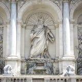 Roma, Italia, fontana della fontana felice di Mosè fotografia stock