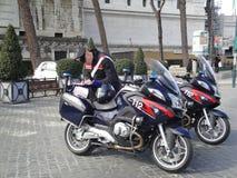Roma, Italia, guardia de Policmen - Carabinieri Fotos de archivo