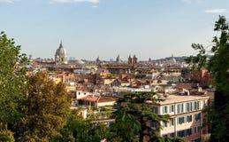 Roma, Italia - vista sulla città Fotografia Stock Libera da Diritti