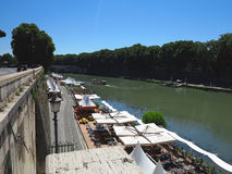 19 06 2017, Roma, Italie : ` Angelo Bridge de Sant à Hadrian Maus Images stock