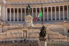 ROMA, ITALIE, LE 11 AVRIL 2016 : Piazza Venezia et Monumento Nazio Images libres de droits