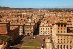 ROMA ITALIEN, APRIL 7, 2016: Fördärvar av Domusen Augustana på PA Royaltyfria Foton