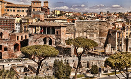 ROMA, ITALY, APRIL 11, 2016 :  View from the balcony of the nati Stock Photography