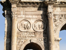 Roma, Italy. Arco Di Costantino (Arch of Constantine), Rome, Italy Royalty Free Stock Images