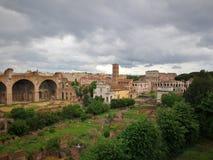 Roma Italy forntida härlig stad för lopp Fotografering för Bildbyråer