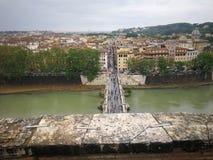Roma Italy forntida härlig stad för lopp Royaltyfri Bild