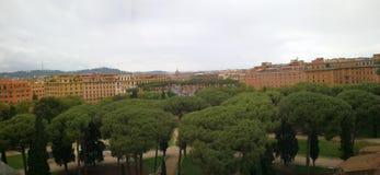 Roma Italy forntida härlig stad för lopp Arkivfoto
