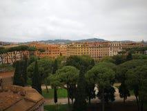 Roma Italy forntida härlig stad för lopp Arkivbilder
