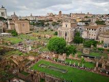 Roma Italy monument Royaltyfria Bilder