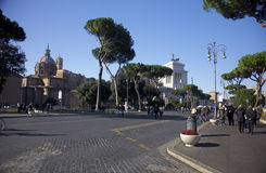 Roma, Italy. Photos travel, attractions, interesting artifacts, beautiful people Stock Image