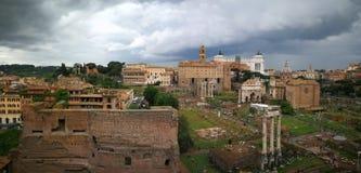 Roma Italy trädgårdparco Fotografering för Bildbyråer