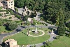 Roma, jardín Fotografía de archivo