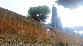 Roma, jardín anaranjado almacen de metraje de vídeo