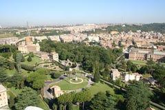 Roma, jardim Foto de Stock Royalty Free